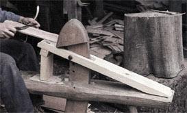 Afrettes med trækkniv