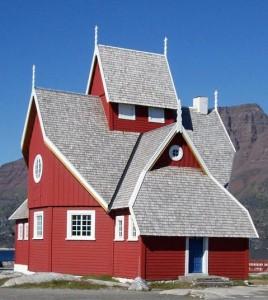 Godhaven Kirke på Grønland