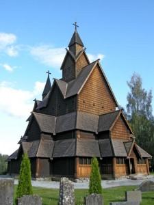 Heddal Stavkirke i Norge